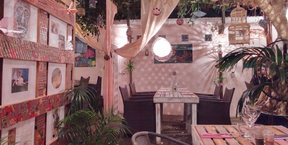 il était une fois, restaurant in St-Leu, Reunion Island. La Réunion