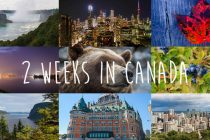 two weeks in canada : toronto, quebec, montreal