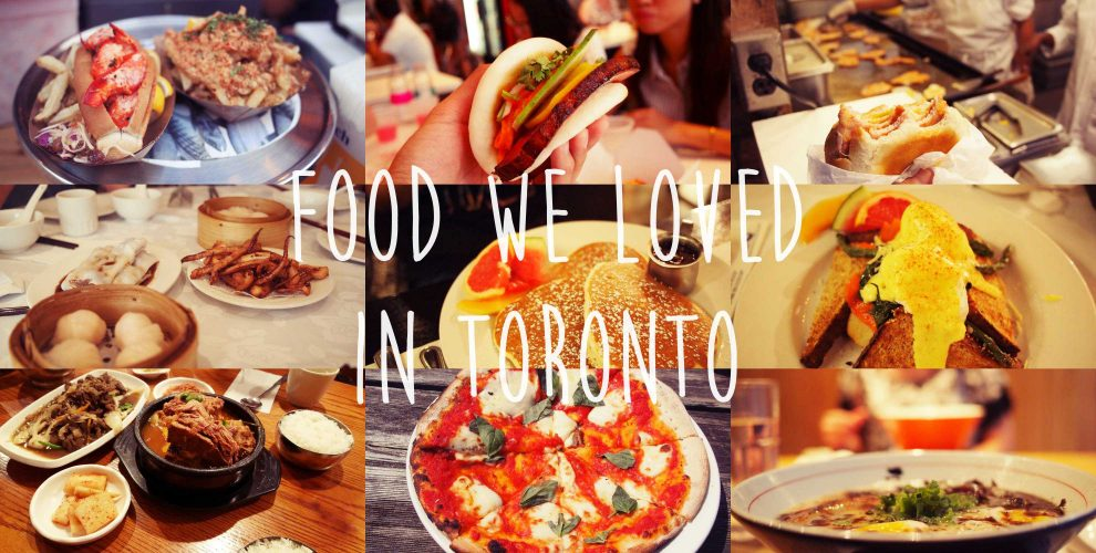 food we loved in torontoncanada. Les endroits où manger à toronto canada