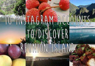 10 instagram accounts to discover reunion island !