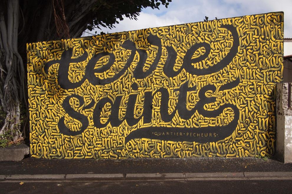 street art à côté du café simone