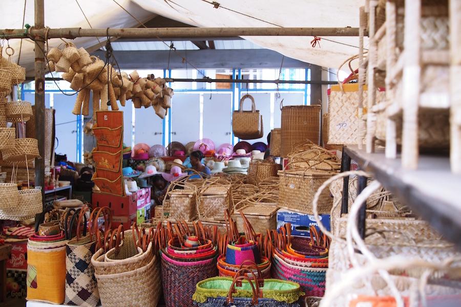 Marché de Port-Mathurin