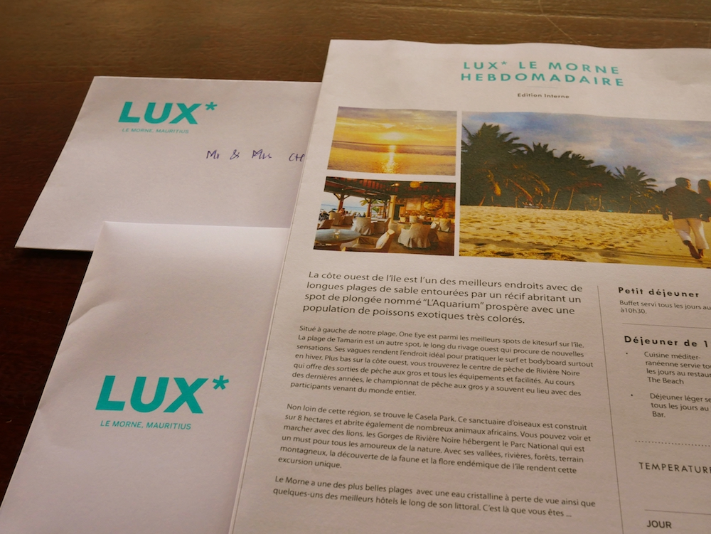 lux le morne honeymoon resort hotel luxe sunset plage beach maurice mauritius love