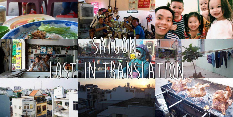 traveling in saigon, vietnam