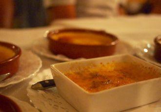 restaurant lé gadiamb à St-Denis, crème brûlée