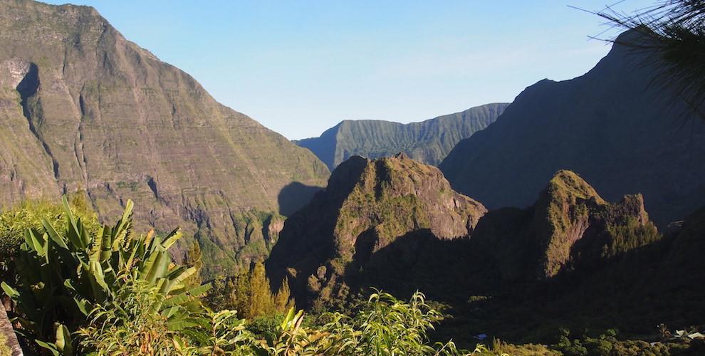 randonnée à Mafate, Reunion island, La Réunion, hiking